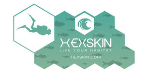 Hexskin Decal Scuba Sticker - Hexskin