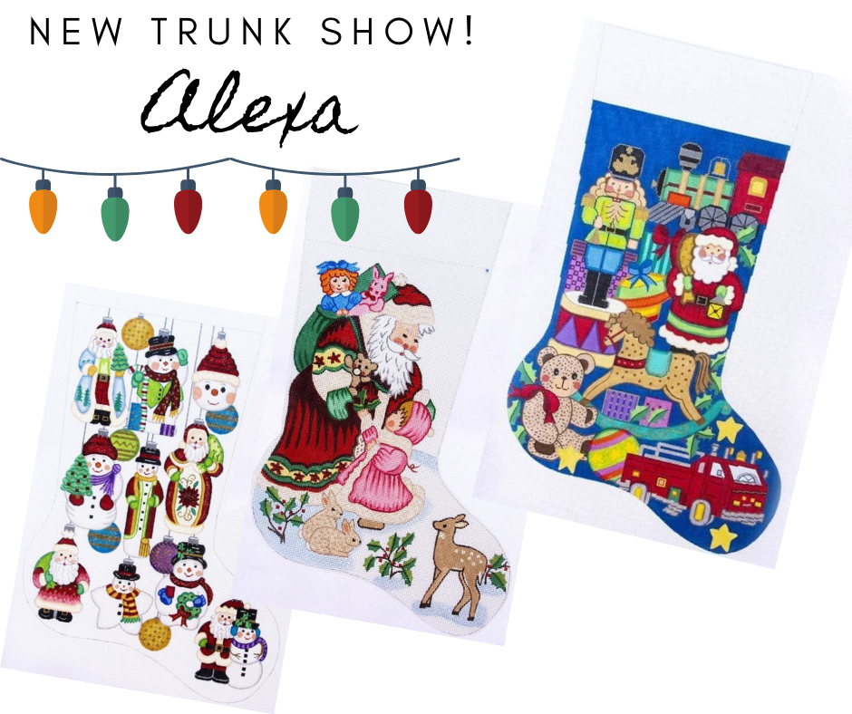 Alexa Needlepoint Designs Trunk Show