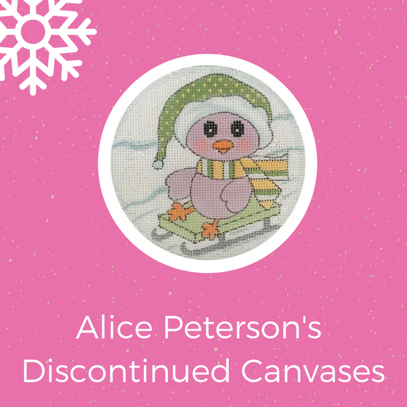 Save on Alice Peterson's Discontinued Canvases