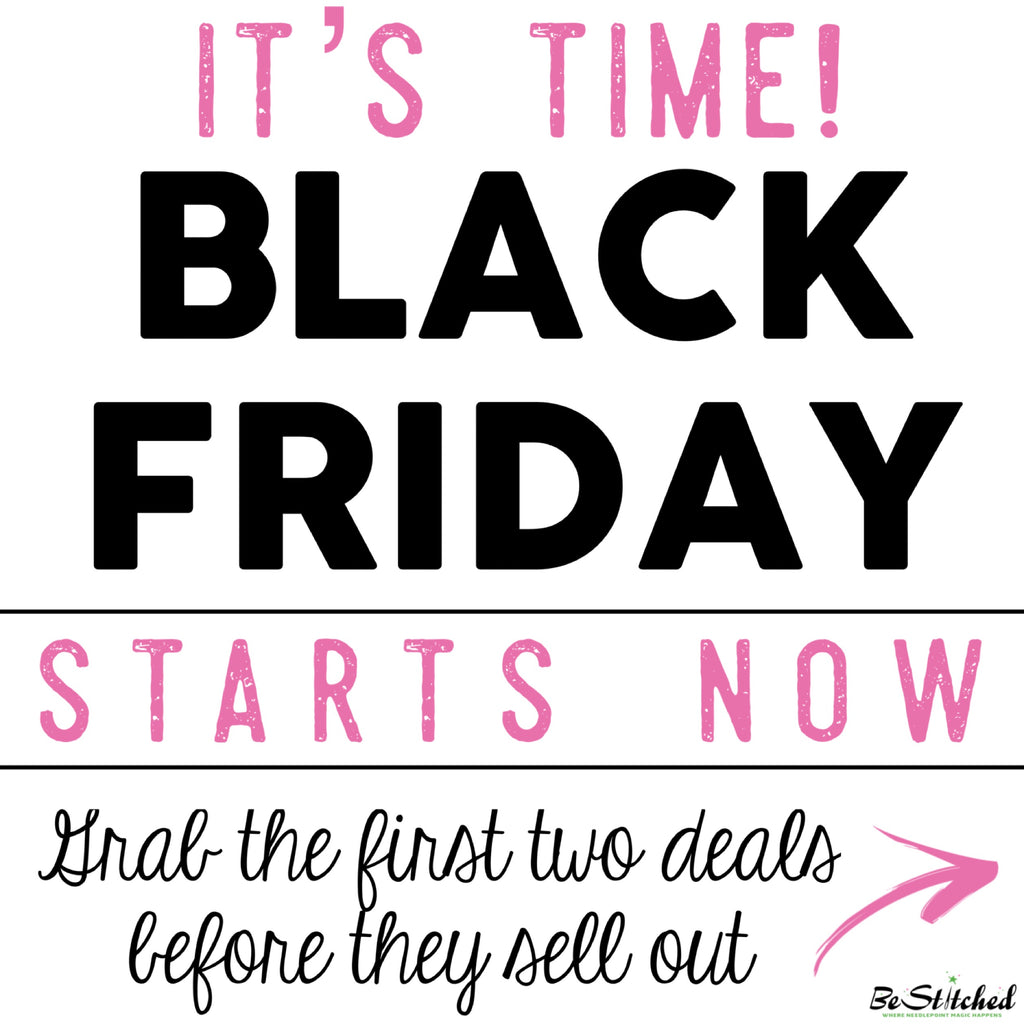 Black Friday Starts Now!