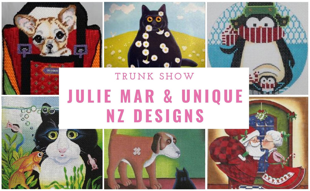 Julie Mar & Unique NZ Designs Trunk Show