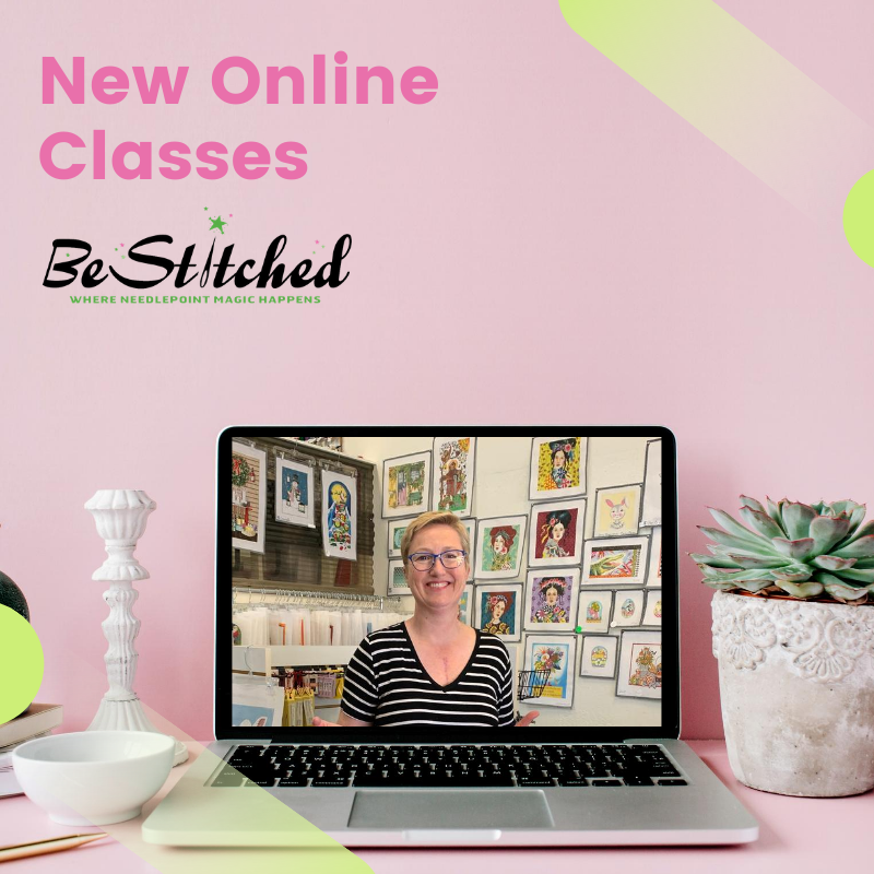 Sign Up for New Online Needlepoint Classes