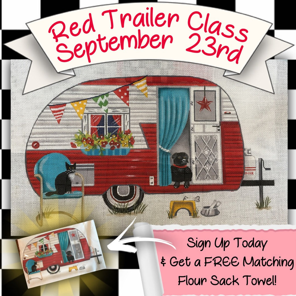 """Red Trailer"" Class - Free Gift with Order TODAY"