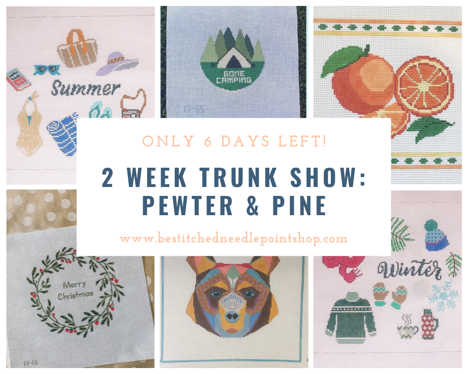 Pewter & Pine Trunk Show