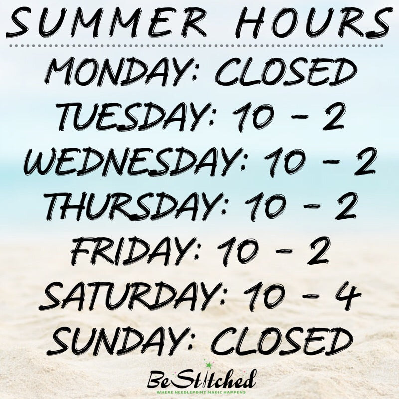 Summer Hours Start Tomorrow!