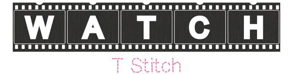 Learn the T Stitch