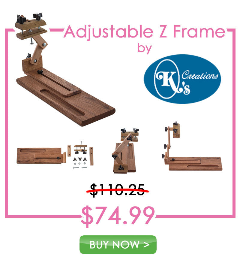 Blowout Pricing for K's Creations Adjustable Z Frame