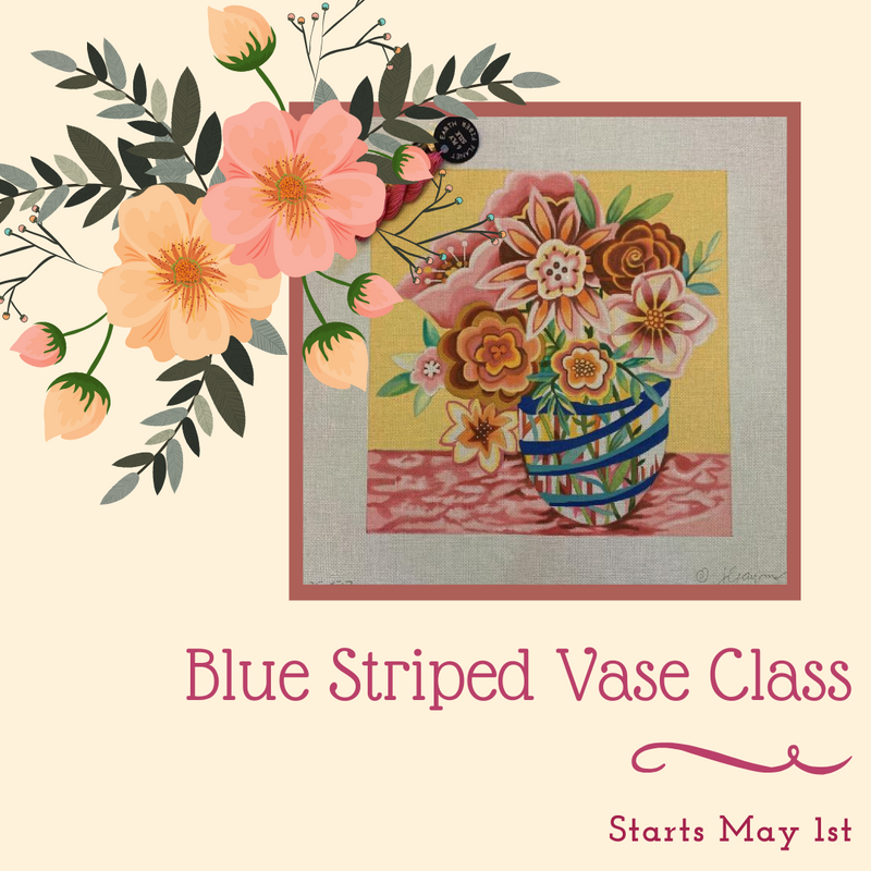 BeStitched Needlepoint Launches New Online Class