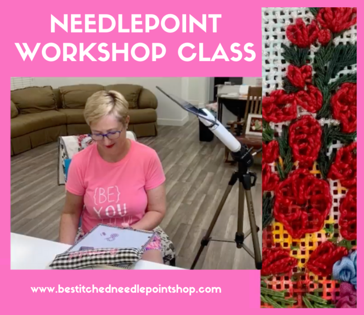 NEW: Needlepoint Workshop Class