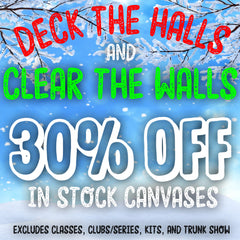 30% Off In Stock Canvas
