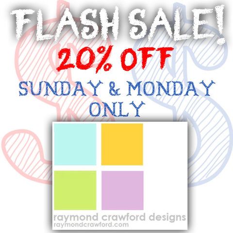 Raymond Crawford Flash Sale