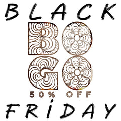 Black Friday BOGO 50% Off