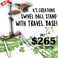K's Swivel Ball Stand
