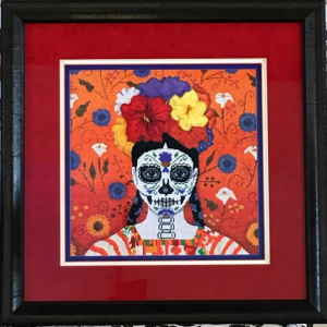 Day of the Dead Needlepoint