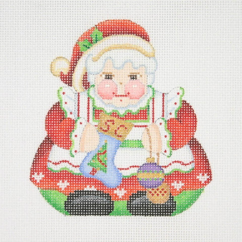 Christmas Ornament / Chubby Mrs. Clause