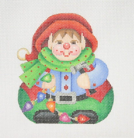 Christmas Ornament / Chubby Elf