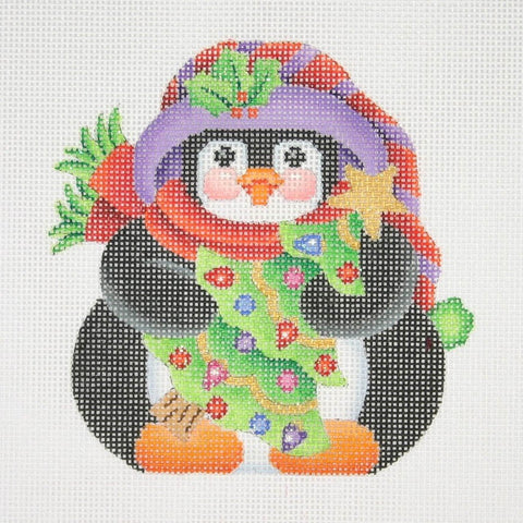 Christmas Ornament / Chubby Penguin