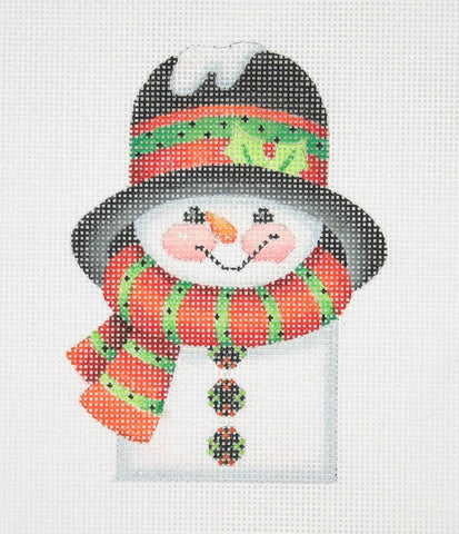 Christmas Ornament / Snowman Picket / Scarf