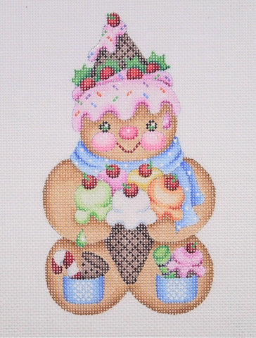 Gingerbread Man / Ice Cream Cone Hat