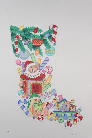 Christmas Stocking ­ Bear in the Box & Other Toys