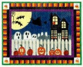 Halloween Night - BeStitched Needlepoint