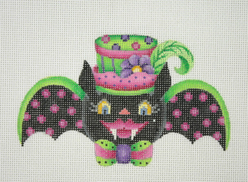 Halloween / Bat Girl / Pink Polka Dot Wings
