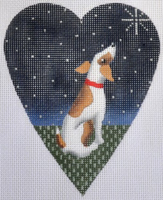 Midnight Jack Russell Heart