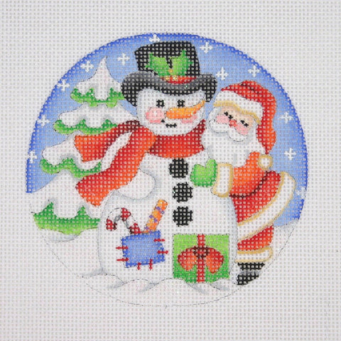 Christmas Ornament / Snow Scene