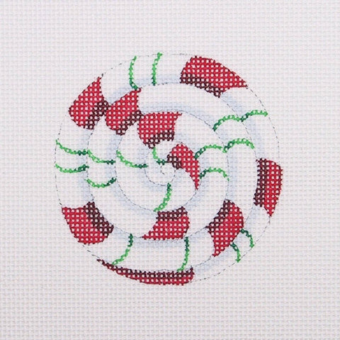 Pinwheel / Red and Green