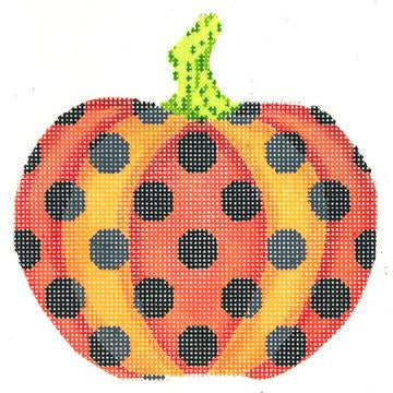 Haunted Polka Dots Pumpkin
