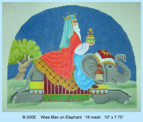 Nativity Wise Man on Elephant