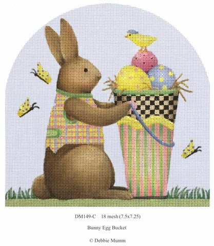 Easter Bunnies - Bunny Egg Bucket