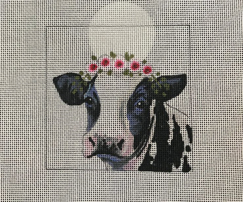 Dairy Cow w/Floral Crown