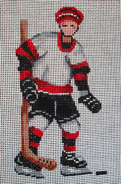Boy Ice Hockey Player