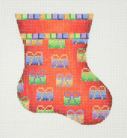 Christmas Mini-Sock / Red / Packages