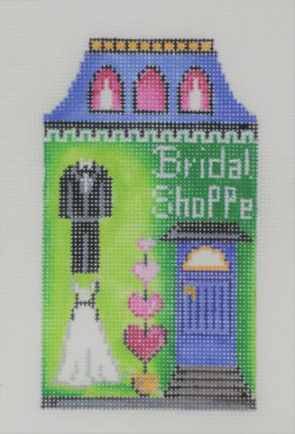 building, bridal shoppe (small on 18M)