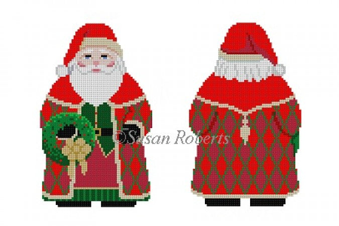 Two Sided Santa (Multiple designs)