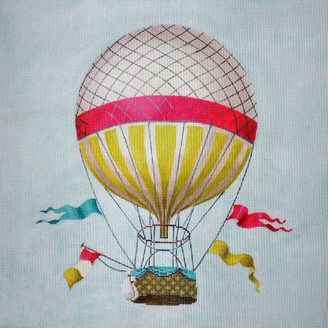 Hot Air Balloon- Single Pink