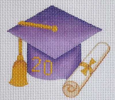 Graduation 201_ Ornament / Purple