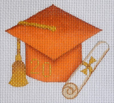 Graduation 201_ Ornament / Burnt Orange