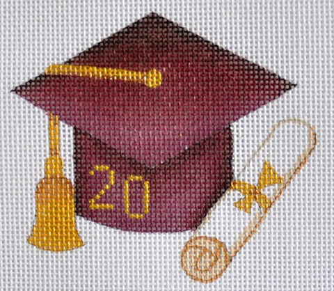Graduation 201_ Ornament / Maroon
