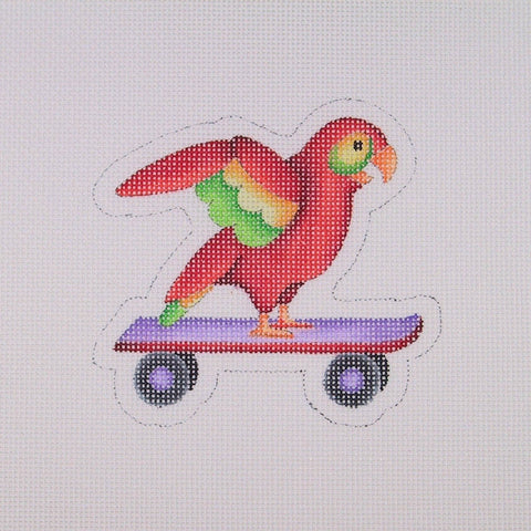 By the Sea / Parrot on a Skateboard
