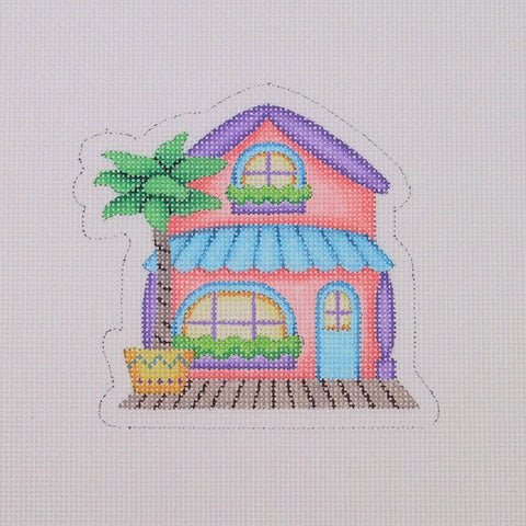 By the Sea / Beach House / Peach / Blue / Purple