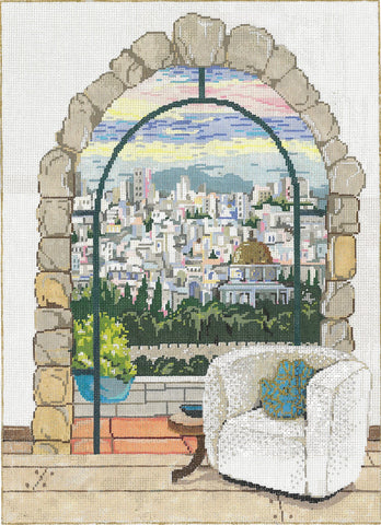 Jerusalem Window 18-977