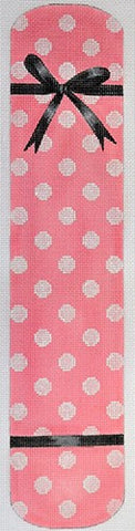 Polka Dot & Bow Eyeglass Case Pink