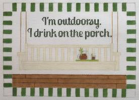 Im outdoorsy…porch