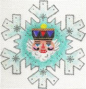 Nutcracker Tree Snowflake ab416