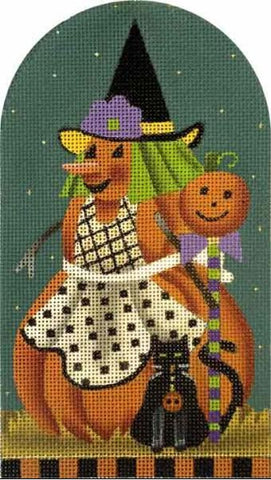 Punkin Witch Black Cat