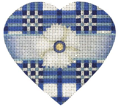 Blue & White Hearts (4 Designs)