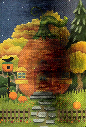Black Bird Pumpkin House
